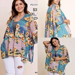 Umgee Plus Size Kimono